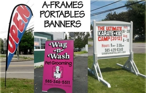 A-Frames, Portables and Banners