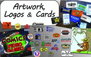 Artwork, Logos and Cards